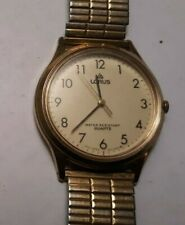 Goldtone LORUS V515-7000 A1 Mens Quartz Watch Works but NEEDS BATTERY & BAND