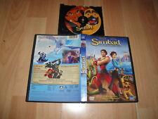 SIMBAD LA LEYENDA DE LOS SIETE MARES EN DVD PELICULA DE ANIMACION EN BUEN ESTADO