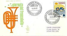 ITALIA REP. - 1967 - Giornata del Francobollo - IX° giornata su FDC Venetia (A)