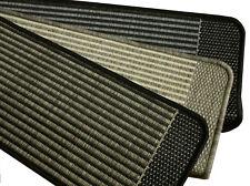 Stufenmatte Treppenmatte PINO robustes Flachgewebe XL 78x24 rechteck NEU
