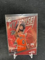 2019-20 Donruss OPTIC COBY WHITE SP MY HOUSE ROOKIE RC #9 Chicago Bulls HOT B02