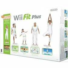 Wii Fit Plus With Balance Board Very Good 1Z