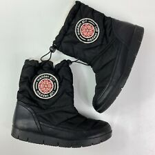 Madden Girl Icicle Winter Boots womens 8.5  Faux Fur Lining black