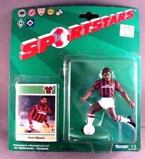 Sportstars Frank Rijkaard Action Figure & Card International Milan NIP Kenner