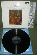 MOZART Complete Dances & Marches Vol 6  ORIG 1st UK 1965 DECCA SXL 6199 MINT-