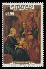 "AITUTAKI 402 (SG553) - ""Adoration of the Magi"" by Durer (pa38987)"