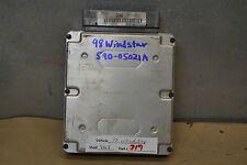 1998 Ford Windstar Engine Control Unit ECU F78F12A650EE Module 19 9G3
