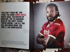 Chris Gayle The Times magazine May 2016