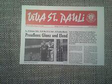 Programm FC St.Pauli - SC Preußen Münster 04/05