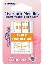 Klasse Overlocker Needles Type K (2054 / 16 x 75)