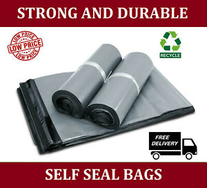 Postal bags parcel bags MAILING BAGS 100% recycled material recyclable UK seller