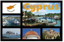 CYPRUS - RECUERDO ORIGINAL IMÁN DE NEVERA - MONUMENTOS / CIUDADES