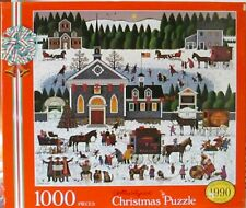 CHRISTMAS BY CHARLES WYSOCKI - Complete - PUZZLE