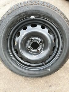 Vauxhall - Combo 4 bolts (2001 - 2010) 14 inch steel wheel & TYRE 175 65 14 CONT