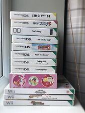 12 Nintendo DS/Wii Games Job Lot