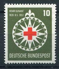 GERMANY 1953 RED CROSS MNH Stamp