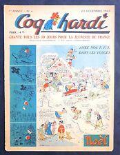 COQ HARDI n°4 du 20 décembre 1944.  Marijac. Très bel état