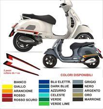 Fregi laterali Vespa GTS kit adesivi stickers 300 250 125 Piaggio decals dx sx
