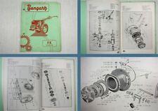 Bungartz FK Einachsschlepper Ersatzteilliste 1961