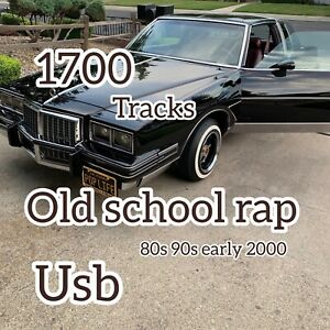 New  8gb usb flash drive +++*1700 Old School Rap  MP3 Music To Go