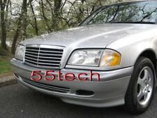 Mercedes W202 C220 C280 C36 Grill Grille AMG 94-00 BK 5 fins stock look