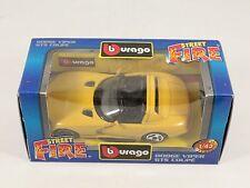 [PH3-31] BBURAGO BURAGO 1/43 STREET FIRE #4120 DODGE VIPER GTS COUPE' GIALLO NIB