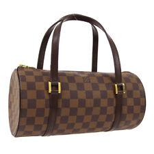 LOUIS VUITTON PAPILLON 26 HAND BAG DAMIER CANVAS LEATHER N51304 DU1004 AK44846