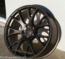 "Dodge Hellcat Satin Matte Bronze wheels 20x9.5/20x10.5"" Challenger Charger"