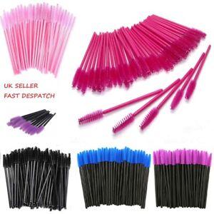 Disposable Mascara Wands Eyelash Brushes Brow Lash Extension Spoolie Applicator