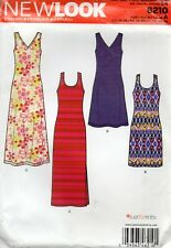 New Look Sewing Pattern 6210 Misses Scoop Neck Dress Size 10-22