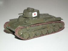 WWII Japanese Type 97 Medium CHI-HA Tank Built & Painted - 1/76 Scale - 28642