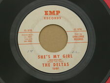 "DELTAS SHE'S MY GIRL EMP orig US GARAGE PUNK MOD INVASION  7"" 45 HEAR"