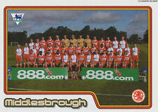 N°380 TEAM EQUIPE MIDDLESBROUGH STICKER MERLIN PREMIER LEAGUE 2005