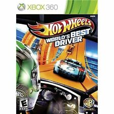 HOT WHEELS WORLD'S BEST DRIVER * XBOX 360 * BRAND NEW FACTORY SEALED!