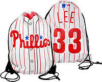 Philadelphia Phillies #33 Cliff Lee Player Drawstring Backpack (NEW)