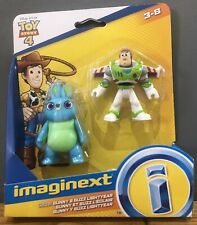 Disney Toy Story 4 Imaginext Figures by Fisher Price Buzz Lightyear Bunny NEW