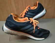 Adidas Energy Boost Men Black Orange Sneaker Running Shoe 13M Pre Owned