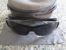 Calvin Klein black frame sunglasses  R612S. With case.