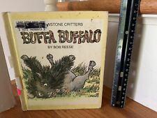 Buffa Buffalo by Bob Reese Yellowstone Critters Hardcover 1986 40 Words Book