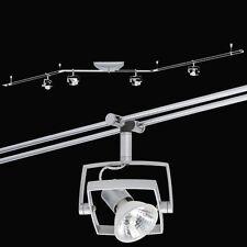 Schienensystem 4x 35W 150VA Trafo Stangensystem 210 cm lang Halogen Spots GU5,3