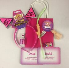HEN NIGHT PARTY GIFT BAGS,FILLED WITH 8 ITEMS, HEN PARTY HEAD BOPPER