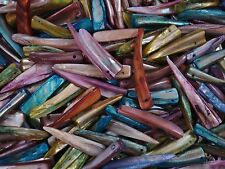 Mother of Pearl Beads 100pc Tooth Mix Shell Jewellery Jewelry FREE POSTAGE