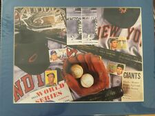 Art Print: New Your Giants Baseball Montage 11 X 14 PRINT READY TO FRAME