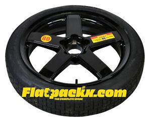 Ford Mustang FM-FN GT Temporary Spare 19x5 Rim with Pirelli Tyre & Gloves.