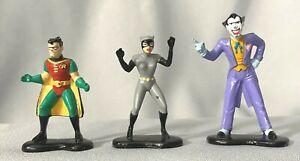 Vintage ERTL DC Comics Super Heroes 1992 Catwoman Joker Diecast Metal Figurine