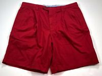 Bruno Saint Hilaire Casual Men's Cotton Stretch Shorts UK 44R Red NEW NWT