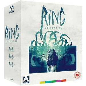 The Ring Collection Blu ray box set new & sealed Region B Arrow Video