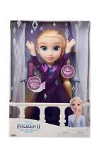 Disney Frozen 2 Princess Elsa Musical Interactive Doll Sings Into the Unknown