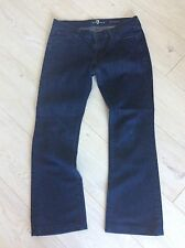 7 FOR ALL MANKIND SOFT & STRETCH BEAUTIFUL LADIES JEANS W28 APPROX UK 10 L28 FAB