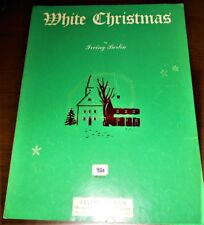 White Christmas Song Sheet Irving Berlin 1947